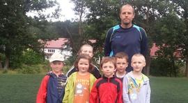 2014.07.12 Trening najmłodszej grupy