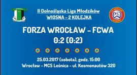 II DLM wiosna 2017 - 2 kolejka - Forza Wrocław (25.03.2017)