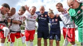 Reprezentacja Polski Amp Futbol w ćwierćfinale Mistrzostw Świata - prowadzi ją Marek Dragosz