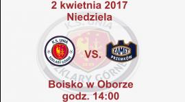 Mecz o mistrzostwo klasy B grupy 2 przeciwko drużynie Zamet II Przemków