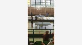 Tenis stołowy: Remis na inaugurację