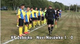 KP Zabajka - Novi Nosówka 1-0