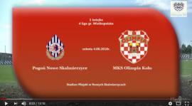 SENIORZY: Pogoń Nowe Skalmierzyce - MKS Olimpia Koło 04.08.2018 [VIDEO]