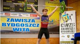 Hubert Tomczak mistrzem województwa do 56 kg.
