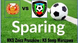 Wideorelacja z meczu MKS Znicz Pruszków - KS Semp.