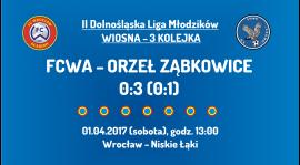 II DLM wiosna 2017 - 3 kolejka - Orzeł Ząbkowice (01.04.2017)