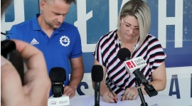 MSMS Piłkarskie Nadzieje szkołą partnerską PGE FKS Stal Mielec