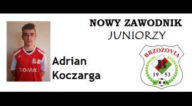 Nowy zawodnik w juniorach Brzozovii