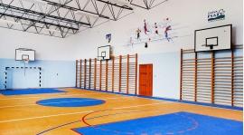 Zaczynamy treningi na sali gimnastycznej