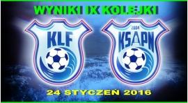 Wyniki IX kolejki KLF 2015/2016
