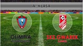 A-KLASA I LKS Olimpia Pławniowice - SKS Gwarek Zabrze 0:2
