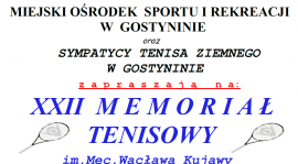 XXII Memoriał Tenisowy im. Mec. Kujawy