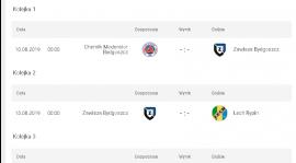 Ramowy terminarz IV ligi w sezonie 2019/2020