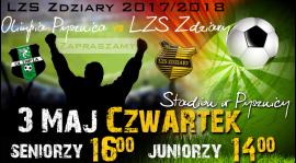 Zapowiedź 25 Kolejki: Olimpia Pysznica - LZS Zdziary.