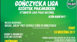 Sezon JESIEŃ 2017 - Zapisy ruszyły - Zapraszamy !!!