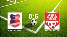 START Brzeziny vs ŁAF Kadra A 0:6