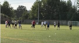 Pierwszy trening drużyny seniorskiej