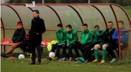 Konrad Dypa oraz Adrian Sobczyński po meczu Iłżanka - Polonia