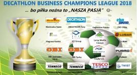 DECATHLON Business Champions League 2018 - ... komplet drużyn już mamy :-)