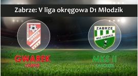 V LM D1 I SKS GWAREK ZABRZE – MKS II Zaborze 3:1 (3:0) - zaległy mecz 3 kolejki