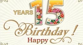 15 urodziny Julki :)