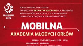 """Zaproszenie na """"Mobilną akademię Młodych Orłów"""""""