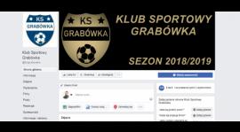 Brawurowe relacje z meczów. KS Grabówka oddaje klimat piłki w A-klasie