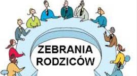 ZEBRANIE Z RODZICAMI - PONIEDZIAŁEK 19.10