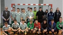 U17: Wicemistrzostwo Halowych Mistrzostw Podokręgu dla juniorów młodszych!