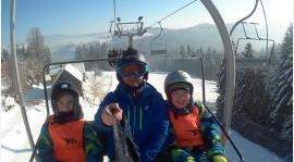 Podhalanin na nartach!