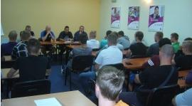 Spotkanie z zawodnikami chcącymi grać w Zawiszy