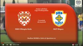 ROCZNIK 2001/2002: MKS Olimpia Koło - SKP-MOS Słupca 26.04.2018 [VIDEO]