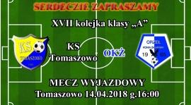 Mecz wyjazdowy w Tomaszowie