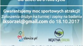 Turniej żaków i badania FMS w ramach Inicjatywy Lokalnej