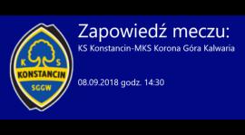 KS Konstancin - MKS Korona Góra Kalwaria