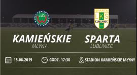 """Warta Kamieńskie Młyny vs LKS """"Sparta"""" Lubliniec"""