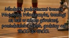Treningi podopiecznych Wojciecha Włodarczyka...