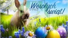 Z okazji zbliżających się Świąt Wielkanocnych pragniemy złożyć najserdeczniejsze życzenia.