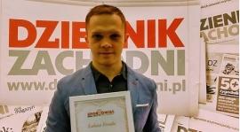 Łukasz Porada Trenerem Młodzieży Miasta Zabrze roku 2017 w plebiscycie Dziennika Zachodniego