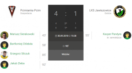 9.kolejka IV liga Pcimianka Pcim-LKS Jawiszowice 4:1