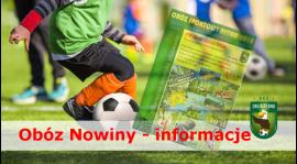 Obóz sportowy - Wakacje - Informacje