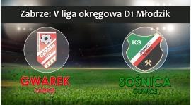 V LM D1 I SKS GWAREK ZABRZE – KS Sośnica Gliwice 4:1 (3:0)