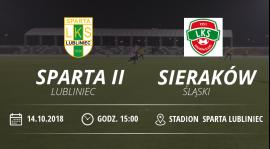 """LKS """"Sparta II"""" Lubliniec vs LKS Sieraków Śląski"""