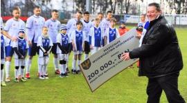 Klub dostał 200 tysięcy!
