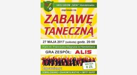 Zabawa taneczna 27.05.2017 r. - Park im.F.Magrysia w Handzlówce