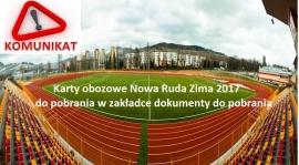 Karty obozowe Nowa Ruda 2017 już do pobrania