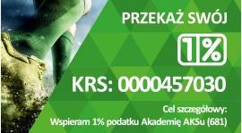 Przekaż 1% podatku na rzecz Akademii AKS Górnik Niwka Sosnowiec