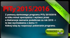 Darmowy program PITy TaxMachine 2015/2016