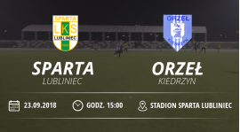 """LKS """"Sparta"""" Lubliniec vs Orzeł Kiedrzyn"""