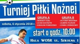 SZKÓŁKA FOX ORGANIZUJE TURNIEJ SENIORSKI !!!